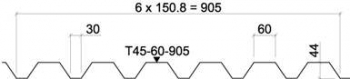RUUKKI T45-60-905 (RAN45)
